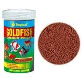 {台中水族} TROPICAL 強化免疫力高級金魚飼料 250ml 特價 適合雜食和肉食性淡、海水魚