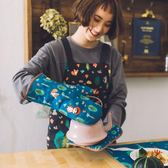 卡通可愛廚房微波爐烤箱烘焙用隔熱手套