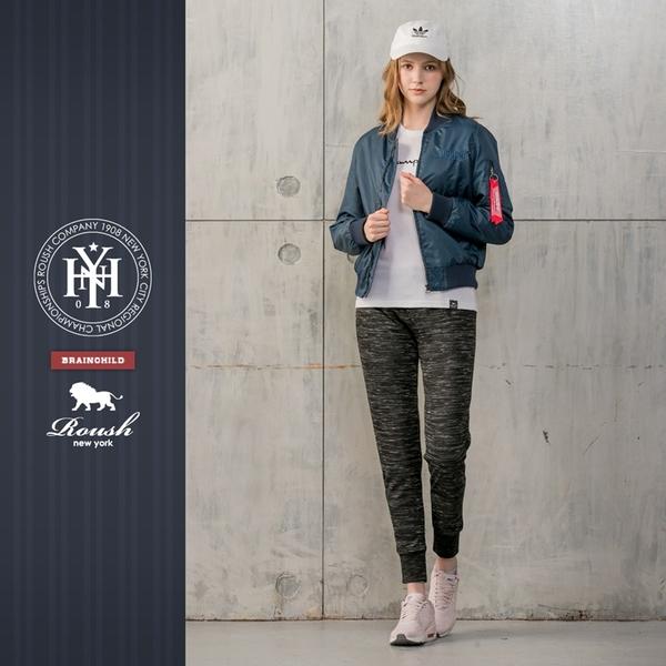 【Roush】 女生MA-1立體刺繡鋪棉飛行外套 -【815908】