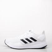 ADIDAS  愛迪達 Duramo 9 男慢跑鞋-白/黑 大尺碼 F34493