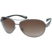 台灣原廠公司貨-【Ray-Ban 雷朋 太陽眼鏡】RB3386-004/13-67mm經典包覆型太陽眼鏡(#棕色鏡片-加大版)