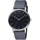 ISSEY MIYAKE三宅一生f系列雙時刻腕錶  VJ21-0360B  NYAJ006Y 黑