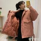 工裝外套秋冬新款韓版超火復古港味寬鬆百搭加厚工裝夾克外套女潮 新年禮物