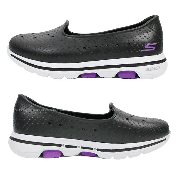 (B7) SKECHERS 女鞋 GO WALK 5水鞋 雨鞋 健走鞋 防水 111105WBKW 黑 [陽光樂活]