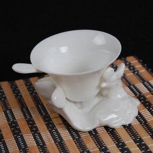 鳳型托手白色