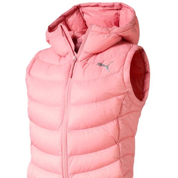 PUMA WarmCell 女裝 羽絨背心 立領 休閒 保暖 防潑水 拉鍊口袋 粉【運動世界】58004114