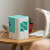 制冷風扇迷你冷風機USB行動加水臥室小空調igo 時尚潮流