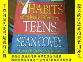 二手書博民逛書店The罕見7 HABITS of Highly Effective TEENSY5803