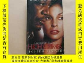 二手書博民逛書店High罕見Crimes (Acceptable)Y2931 Joseph Finder Avon Books