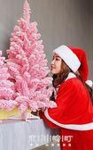 聖誕節粉色植絨樹1.2米1.5米1.8米家用婚禮裝飾商場櫥窗擺件   東川崎町