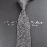 領帶-正裝商務結婚窄韓版工作學生禮盒裝 提拉米蘇