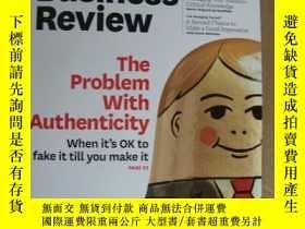 二手書博民逛書店Harvard罕見Business Review January