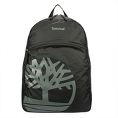 Timberland 經典品牌LOGO實用休閒後背包/電腦包/旅行包/休閒包/雙肩包(黑)851000