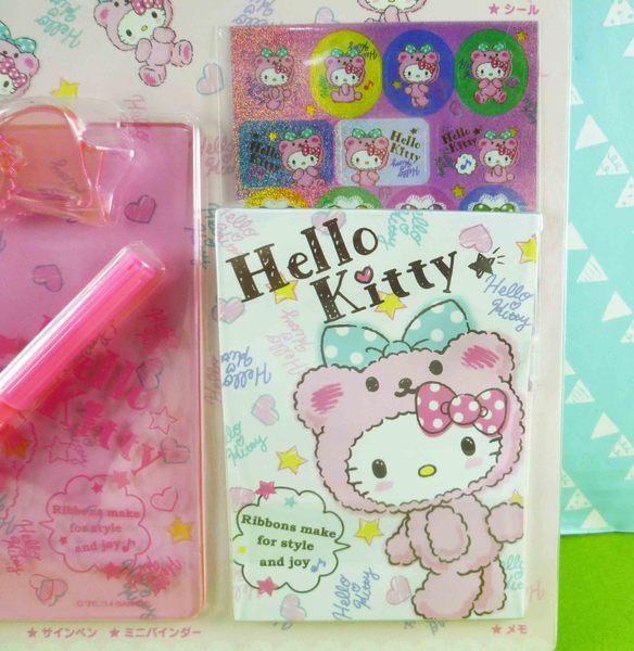 【震撼精品百貨】Hello Kitty 凱蒂貓~文具組-夾板