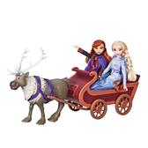 冰雪奇緣2公主與小斯/雪橇組
