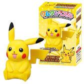 【日本進口正版】 神奇寶貝 皮卡丘 3D立體拼圖 35片 公仔模型 精靈寶可夢 pokemon 187880
