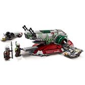 LEGO 樂高 Star Wars - 波巴費特的星際飛船Boba Fett s Starshi 75312
