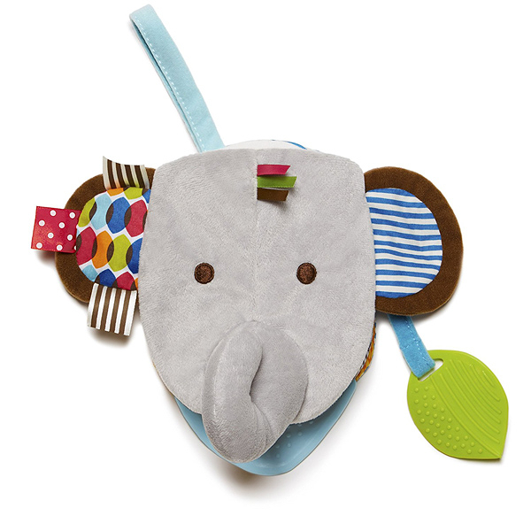 美國SKIP HOP 圍巾小伙伴玩偶書/布書 大象