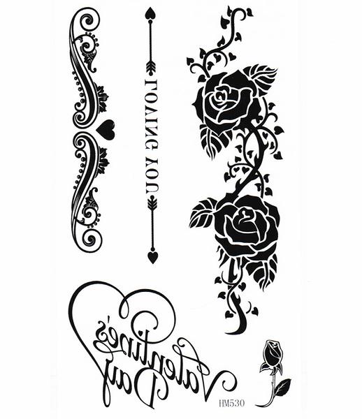 薇嘉雅     LOVING YOU 紋身貼紙 HM530