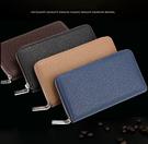男皮夾 皮夾 手機包 長夾 拉鍊包 男用手機包 男皮夾 商務票 皮革  證包 卡包
