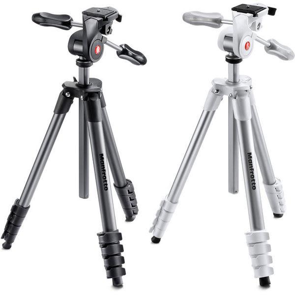 ◎相機專家◎ Manfrotto MKCOMPACTADV Compact Action 輕巧進階級腳架 正成公司貨