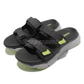 Skechers 拖鞋 Max Cushioning Sandal North Beach 男鞋 灰綠 運動拖鞋【ACS】 229017CCLM