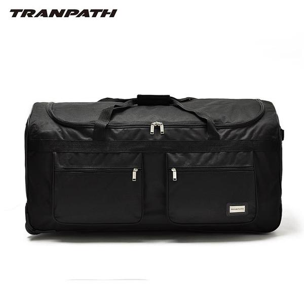超輕拉桿箱超大容量32寸40寸軟牛津帆布男學生行李箱托運包 生活樂事館NMS