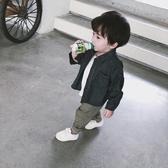 寶寶牛仔外套男童春秋外套2019新款韓版女童秋裝上衣兒童休閒薄款Mandyc