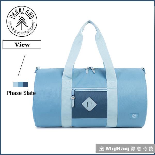Parkland 旅行袋  藍色  休閒大容量側背包 View-059 MyBag得意時袋