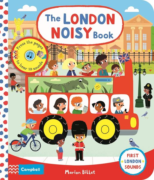 The London Noisy Book 倫敦之旅音效書