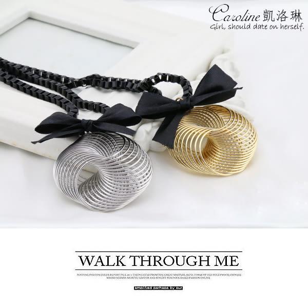 《Caroline》★韓國熱門戲劇.明星同款時尚風格長項鍊68101