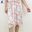 【春夏新品】American Bluedeer - 鬆緊腰透膚裙 二色
