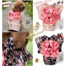 日式可愛寵物和服 寵物衣服 狗衣 貓衣 日式 和服 和風 日本 蝴蝶結 碎【Miss.Sugar】【G00427】