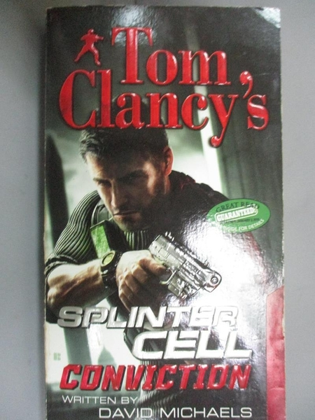 【書寶二手書T8/原文小說_HBW】Tom Clancy's Splinter Cell: Conviction_Michaels, David