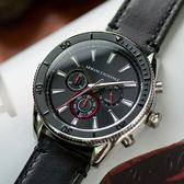 A/X Armani Exchange 亞曼尼 AX1817 低調風範三眼計時腕錶 熱賣中!