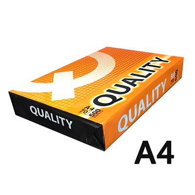 QUALITY A4 70gsm雷射噴墨白色影印紙500入橘包淨白色