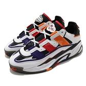 adidas 休閒鞋 Niteball 白 紅 紫 橘 復古 愛迪達 男鞋 鞋舌魔鬼氈【ACS】 S24182