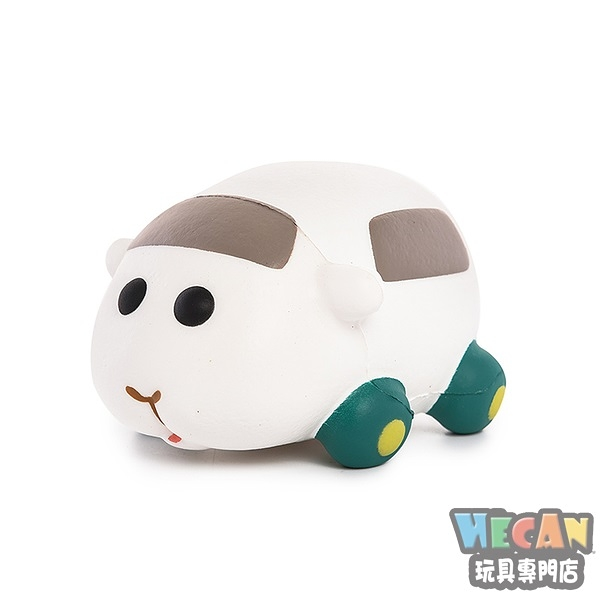 軟軟Squishy紓壓玩具系列 PUI PUI天竺鼠車車 西羅摩 舒壓公仔 (i BLOOM) 23683