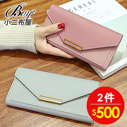 女長夾 復古多色皮夾手拿包錢包【NQAG5103】