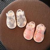 萬聖節狂歡 千層底小孩布鞋寶寶鞋夏季0-1歲嬰兒鞋布軟底涼鞋6-12個月步前鞋 桃園百貨