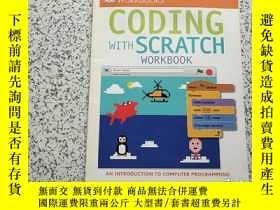 二手書博民逛書店DK罕見Workbooks: Coding with Scratch WorkbookY26761 DK DK