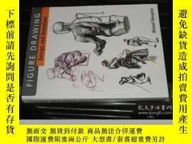 二手書博民逛書店人物畫法罕見Figure Drawing: Design and