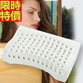 乳膠枕-護頸椎保健助眠柔軟天然乳膠枕頭68y14[時尚巴黎]
