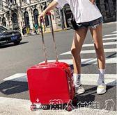 拉桿箱韓版女生行李箱18寸卡通登機箱小型旅行箱小清新男學生拉桿箱igo 潮人女鞋