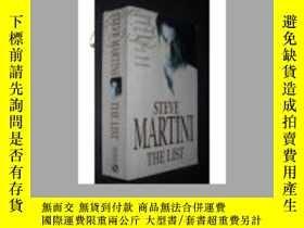 二手書博民逛書店STEVE罕見MARTINI THE LIST(史蒂夫馬提尼的清