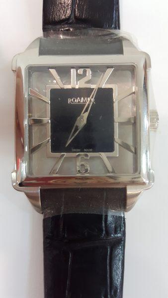 ROAMER-手動上鍊機械錶-白面