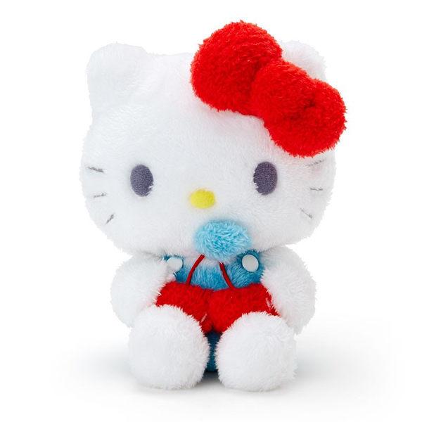 Sanrio HELLO KITTY夏日家居系列絨毛娃娃(愛心櫻桃)★funbox★_038032A