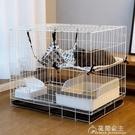 貓籠二層摺疊超大自由空間家用室內貓籠子貓別墅貓窩兔籠貓咪用品 快速出貨YJT快速出貨