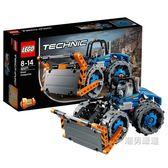 樂高積木樂高機械組42071推土壓路機LEGOTechnic積木玩具收藏xw