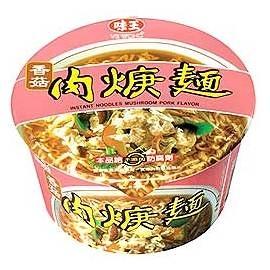 味王香菇肉焿麵紙碗裝(12碗/箱)【合迷雅好物超級商城】